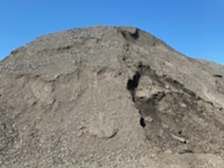 Crushed Asphalt at Shawnee Yard