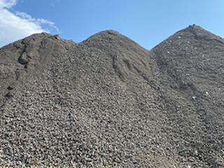 Crushed Concrete at Shawnee Yard